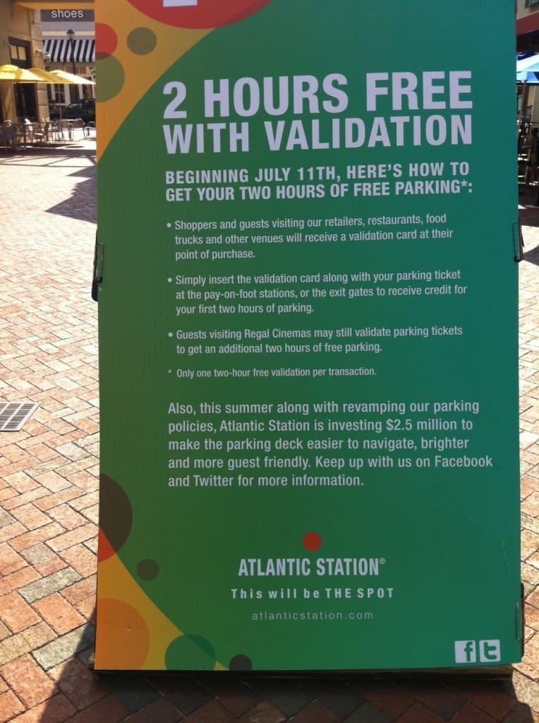 atlantic station parking ~ what now atlanta