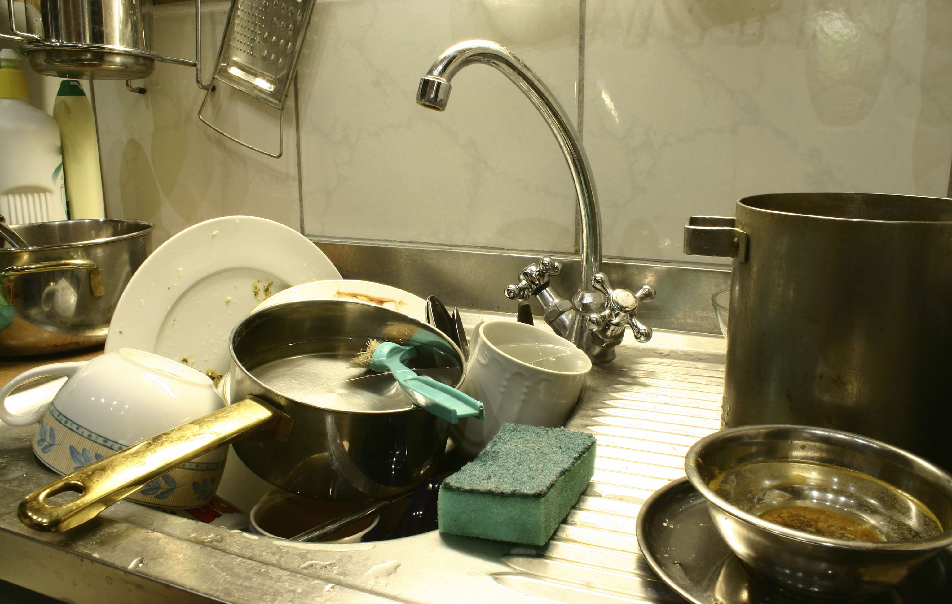 Lots of dirty dishes ~ what now atlanta
