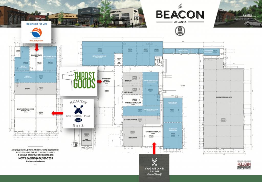 The Beacon Atlanta - Site Plan