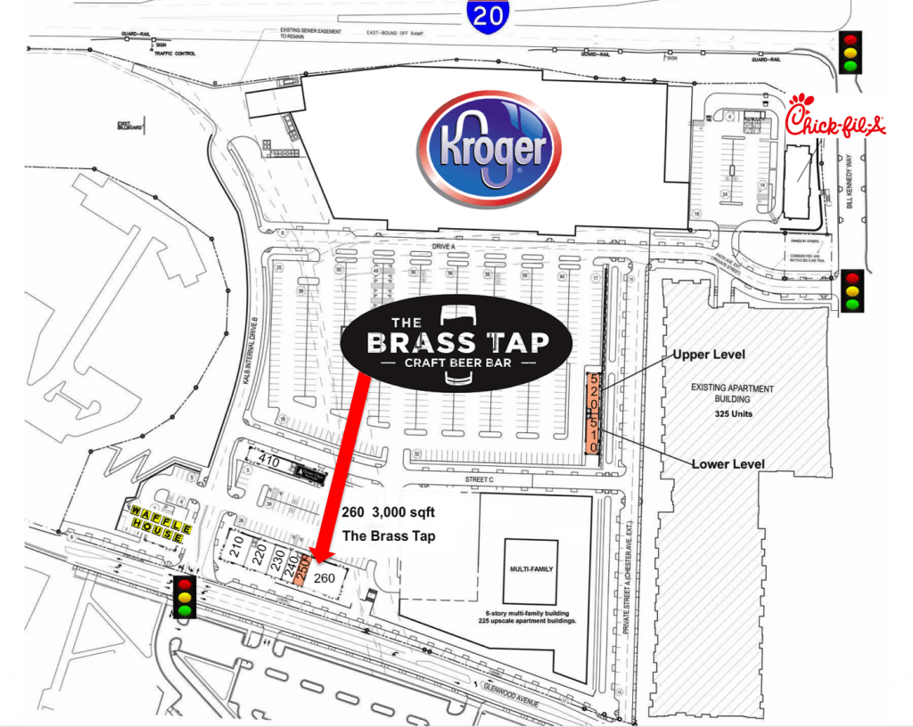 The Brass Tap | Glenwood Place