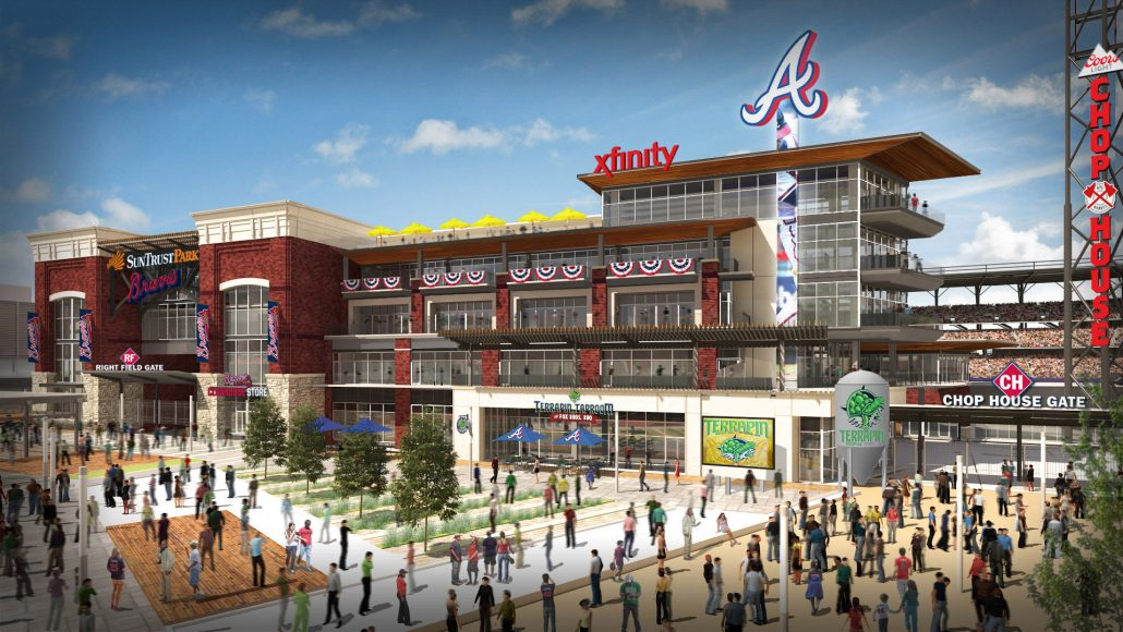 The Battery Atlanta Rendering