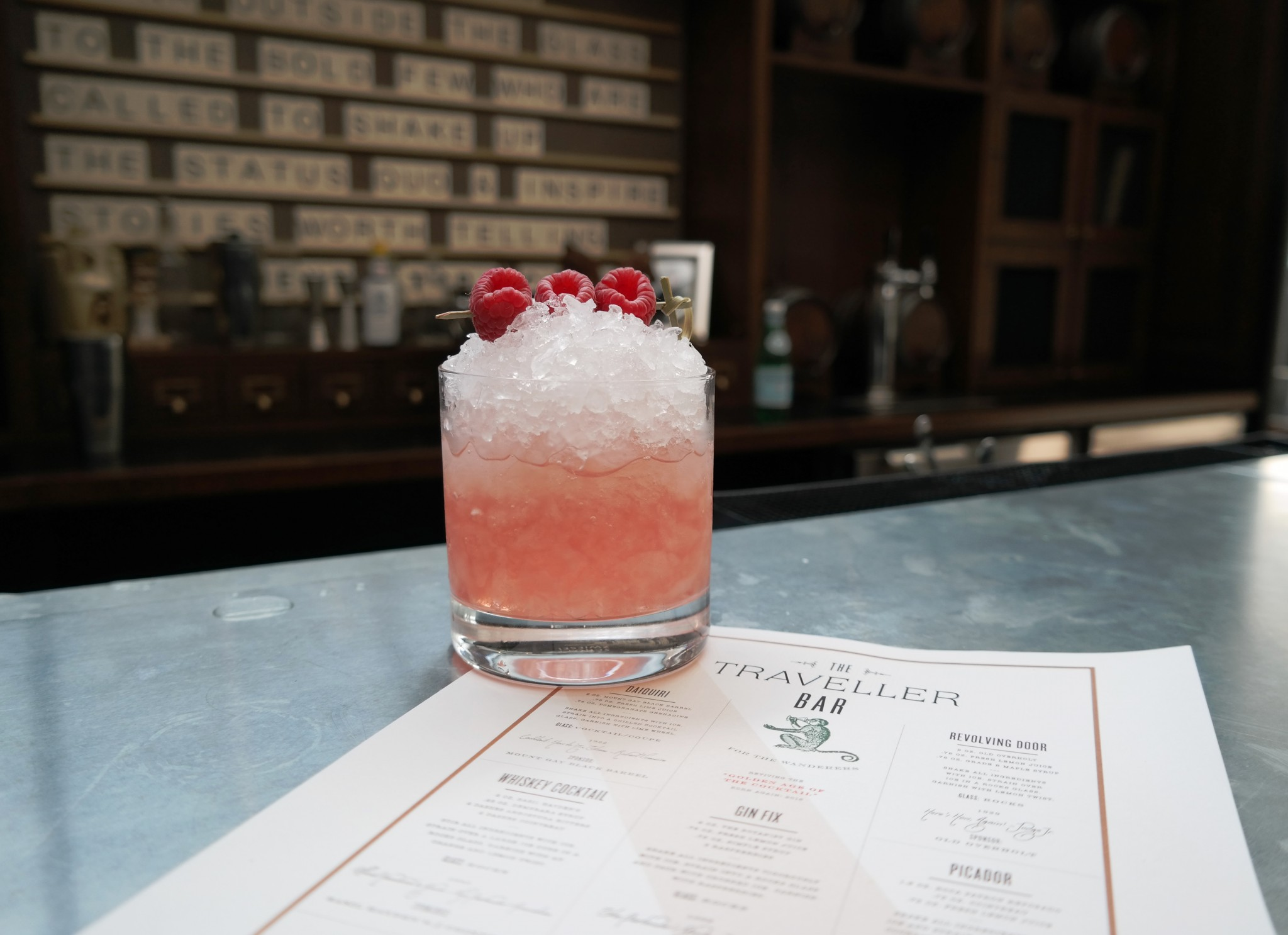 The Traveller Bar - Gin Cocktail