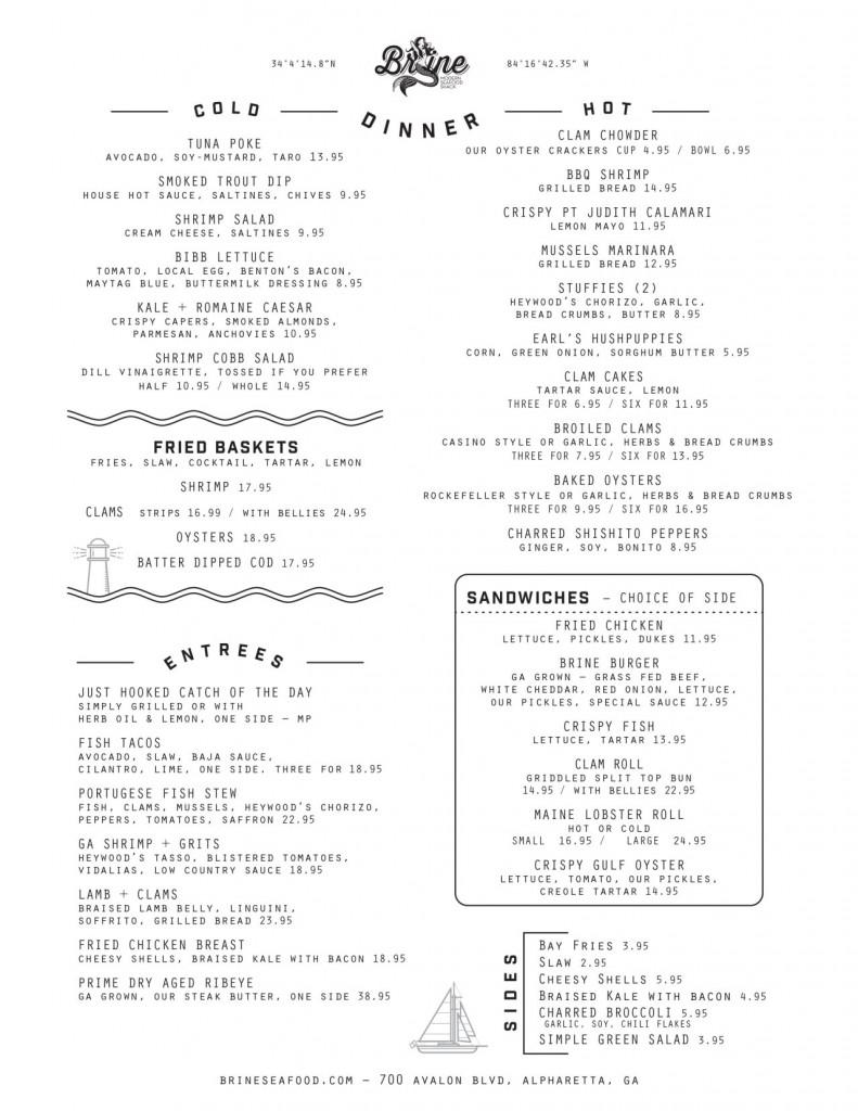 Brine Seafood Shack - Avalon