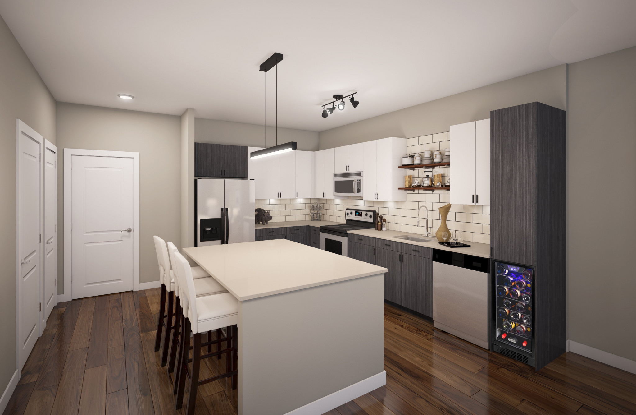 Helios Apartments A2 Kitchen