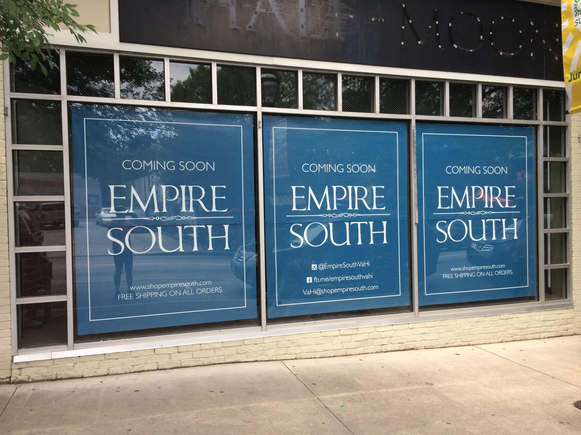 Empire South Clothier Expanding to Atlanta with Virginia-Highland