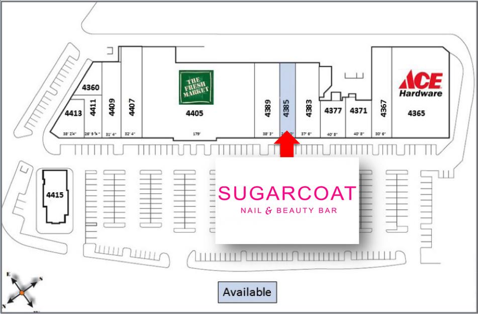 Sugarcoat - Site Plan