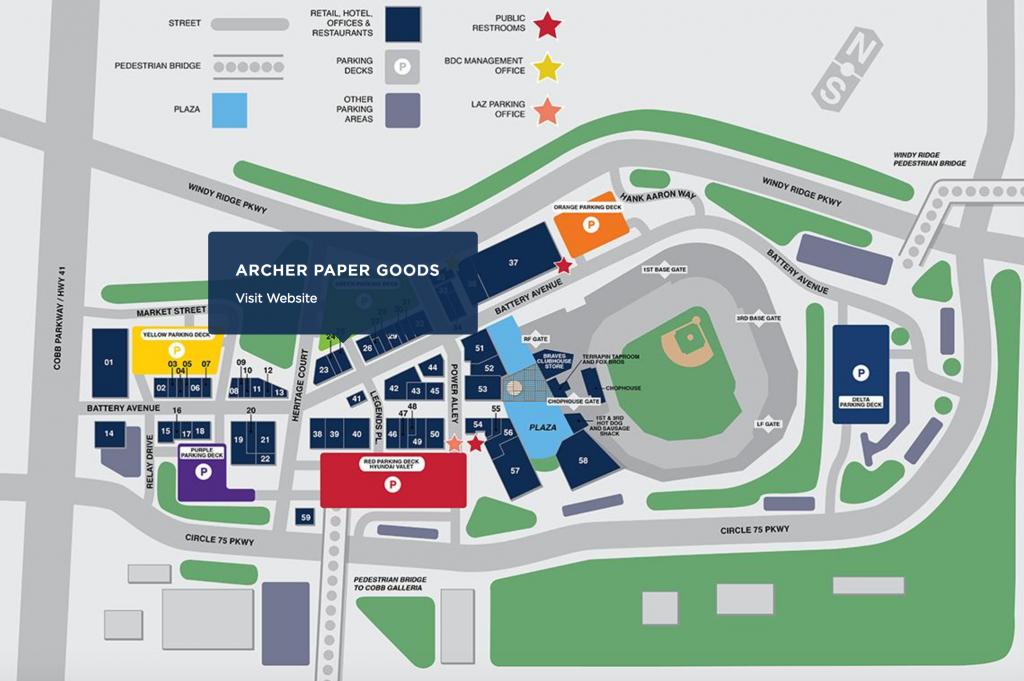 Archer Paper Goods - The Battery Atlanta