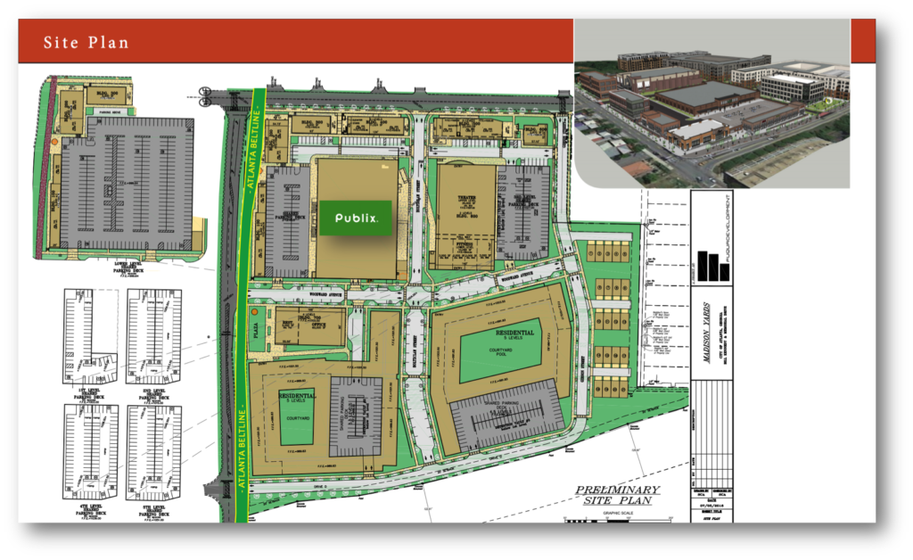 Madison Yards - Site Plan
