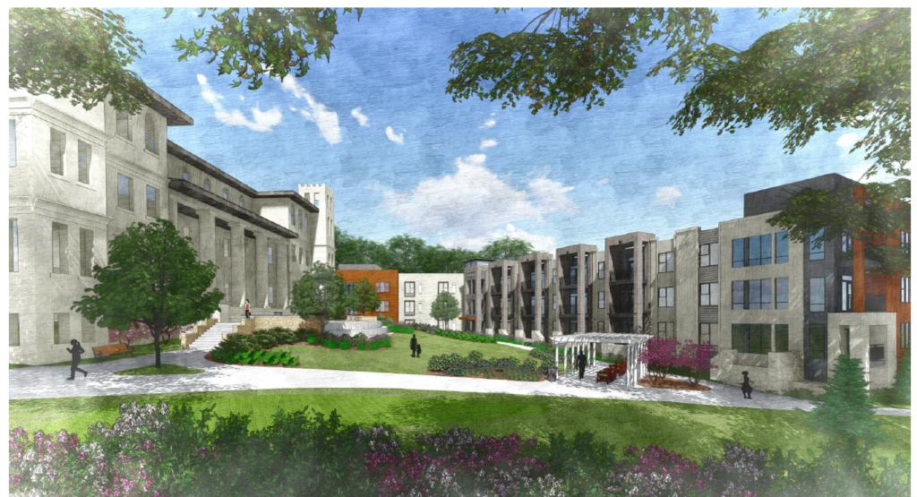 Link Apartments Grant Park Rendering 3
