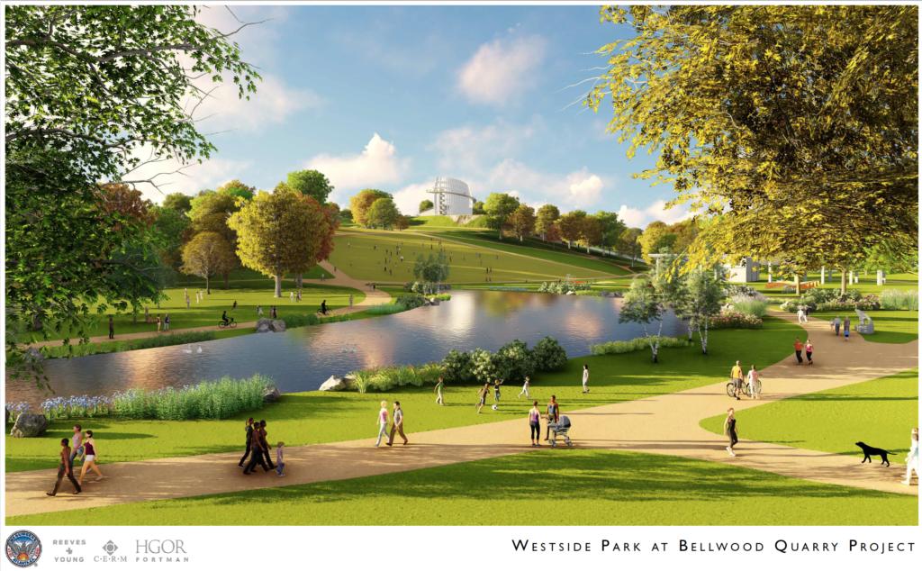 Westside Park at Bellwood Quarry - Rendering 6