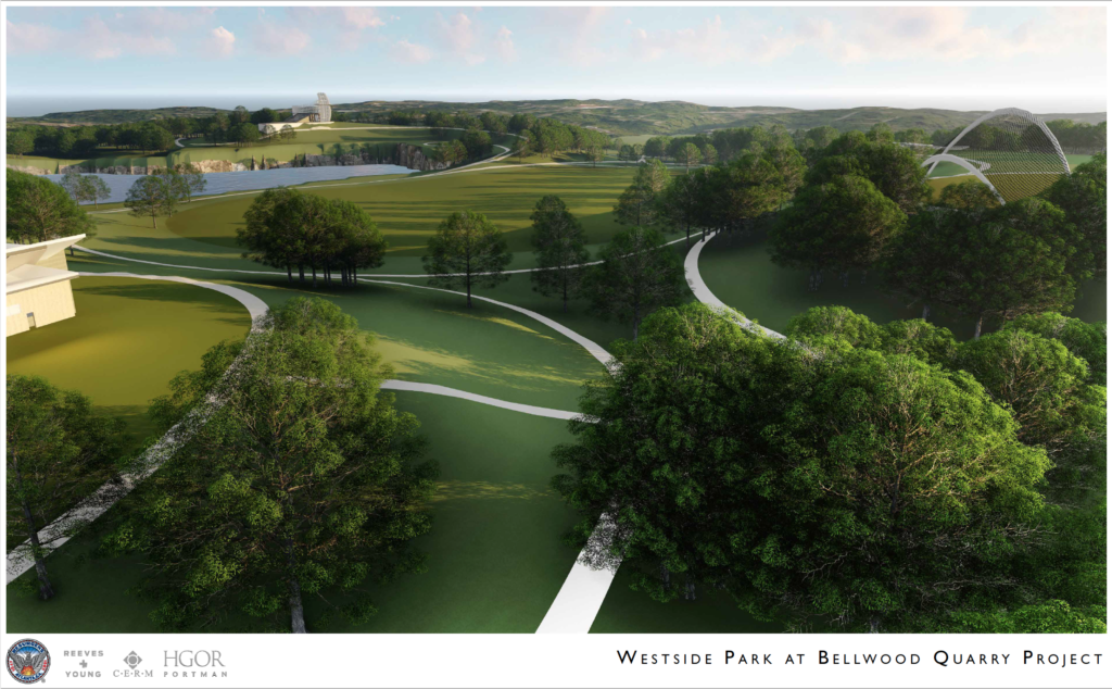 Westside Park at Bellwood Quarry - Rendering 8