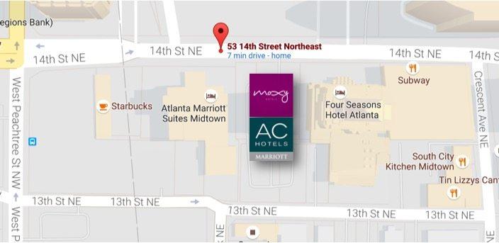AC Hotel By Marriott : Moxy Hotel Atlanta