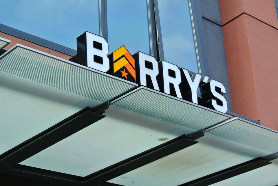 Barry's Bootcamp Signage