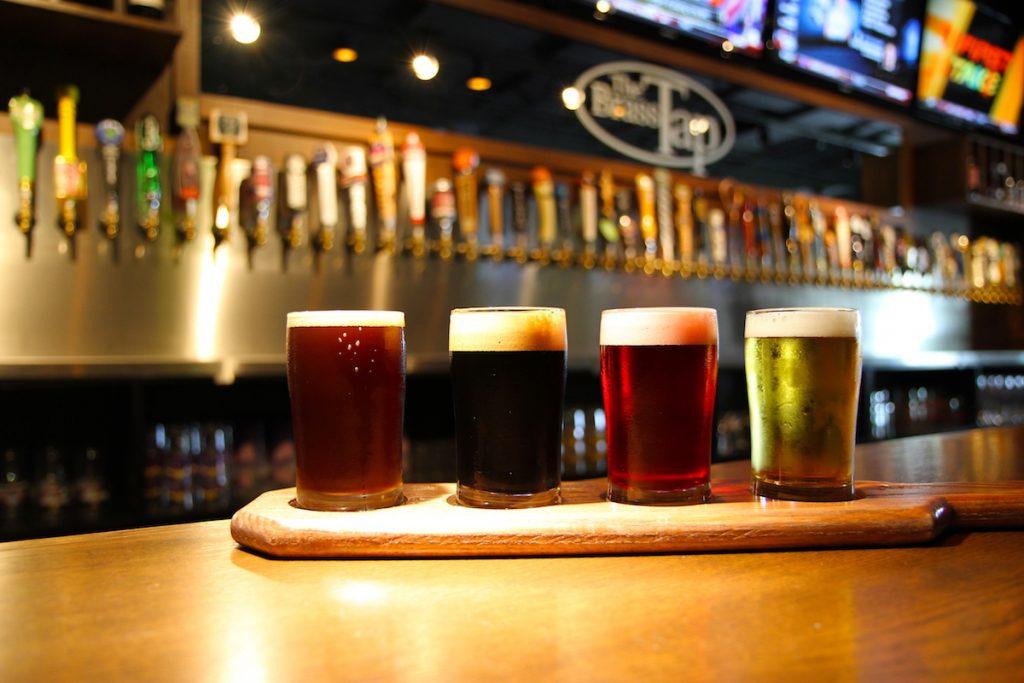 Brass Tap - Beer Flight