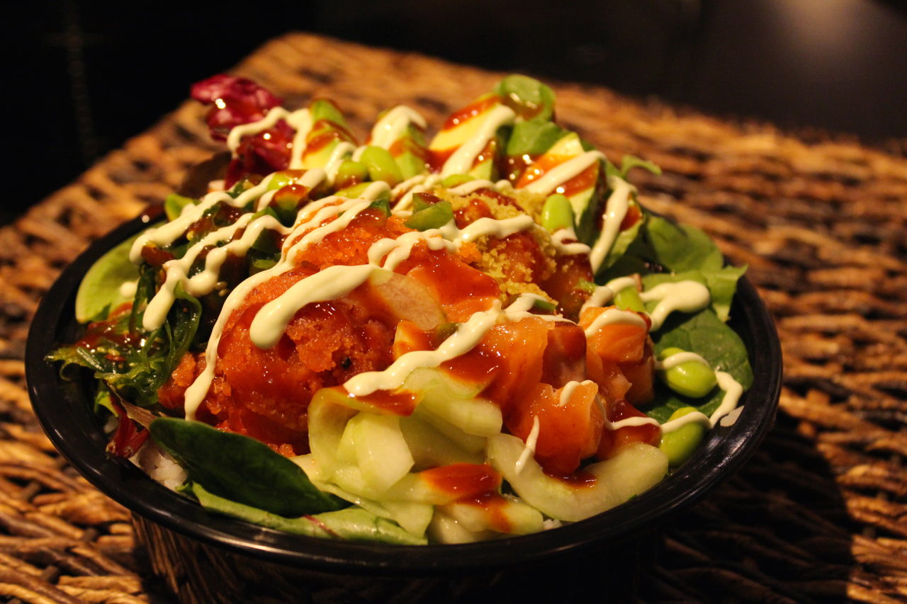 The Spicy Tuna Poke Bowl