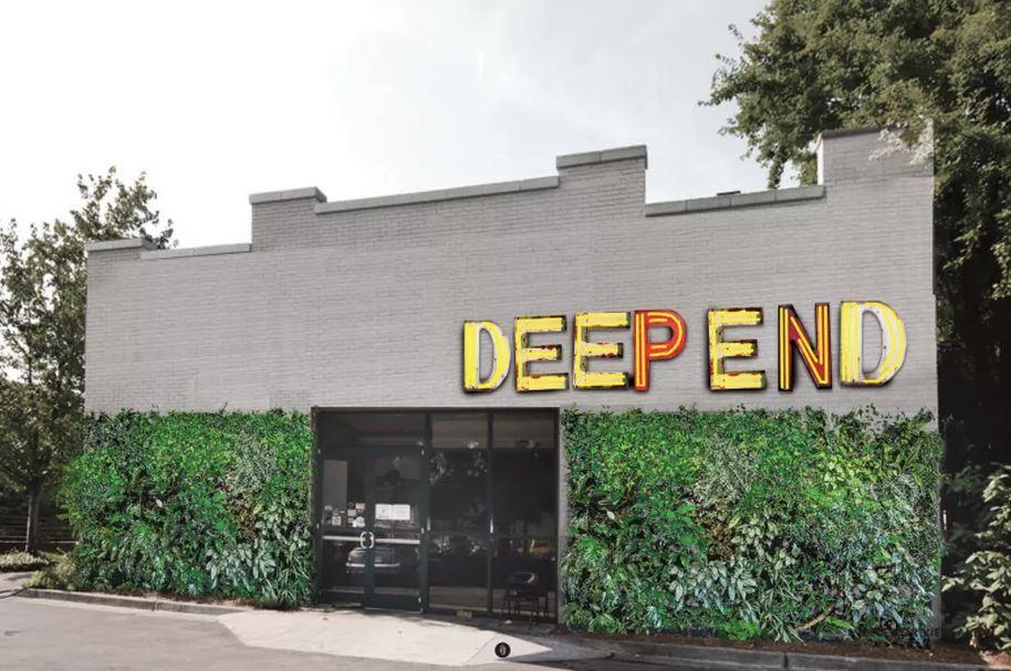 Deep End rendering