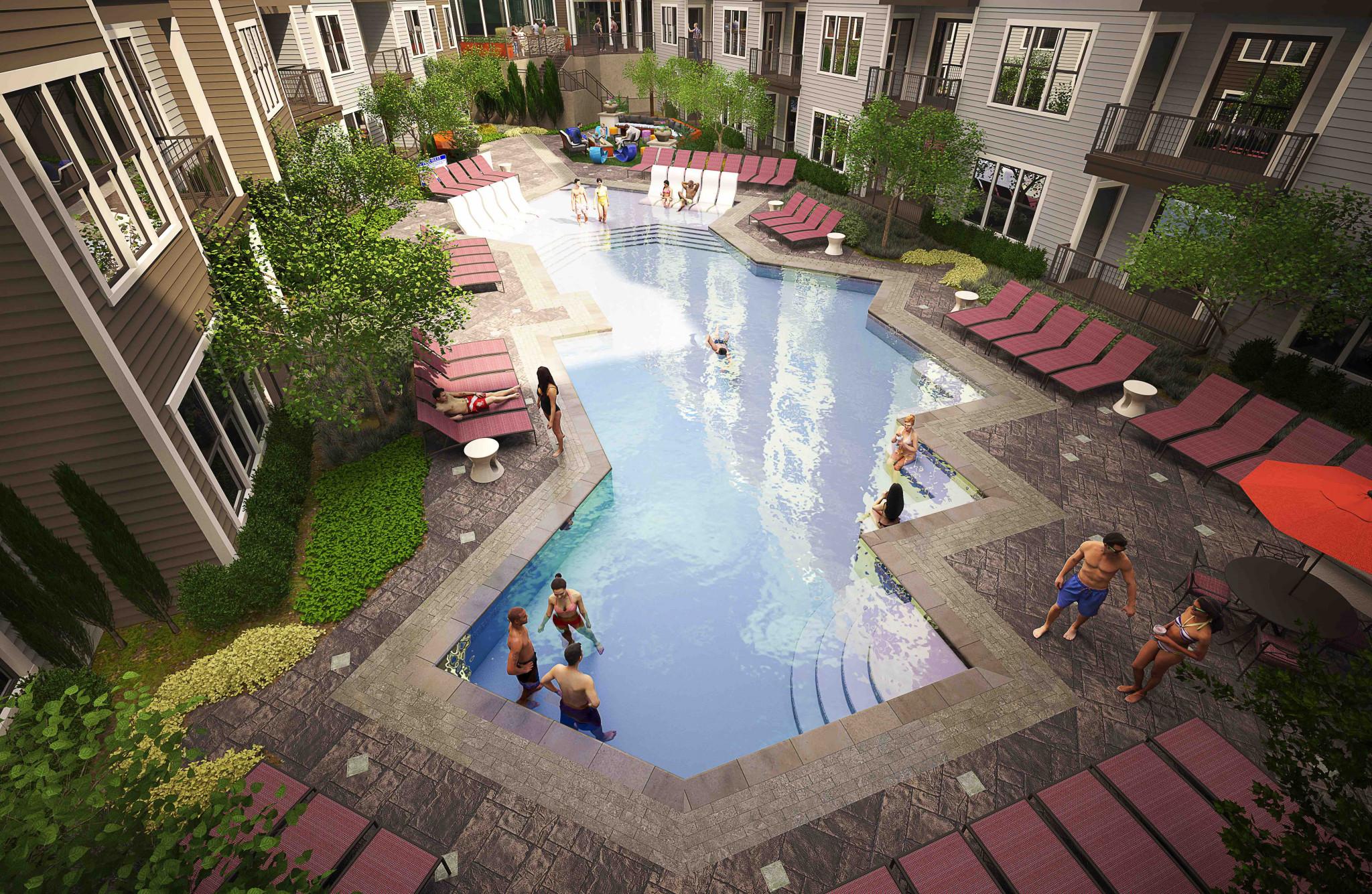 Helios Apartments Pool