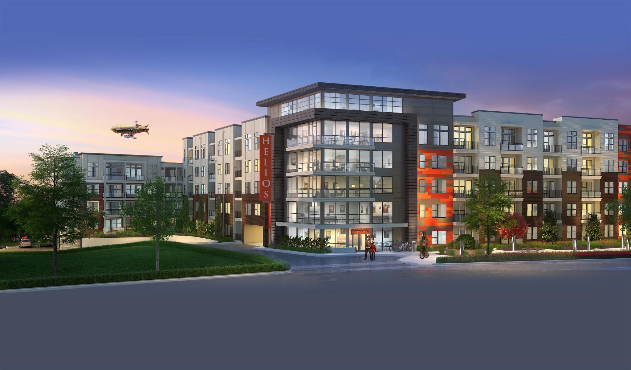 Helios Apartments Rendering
