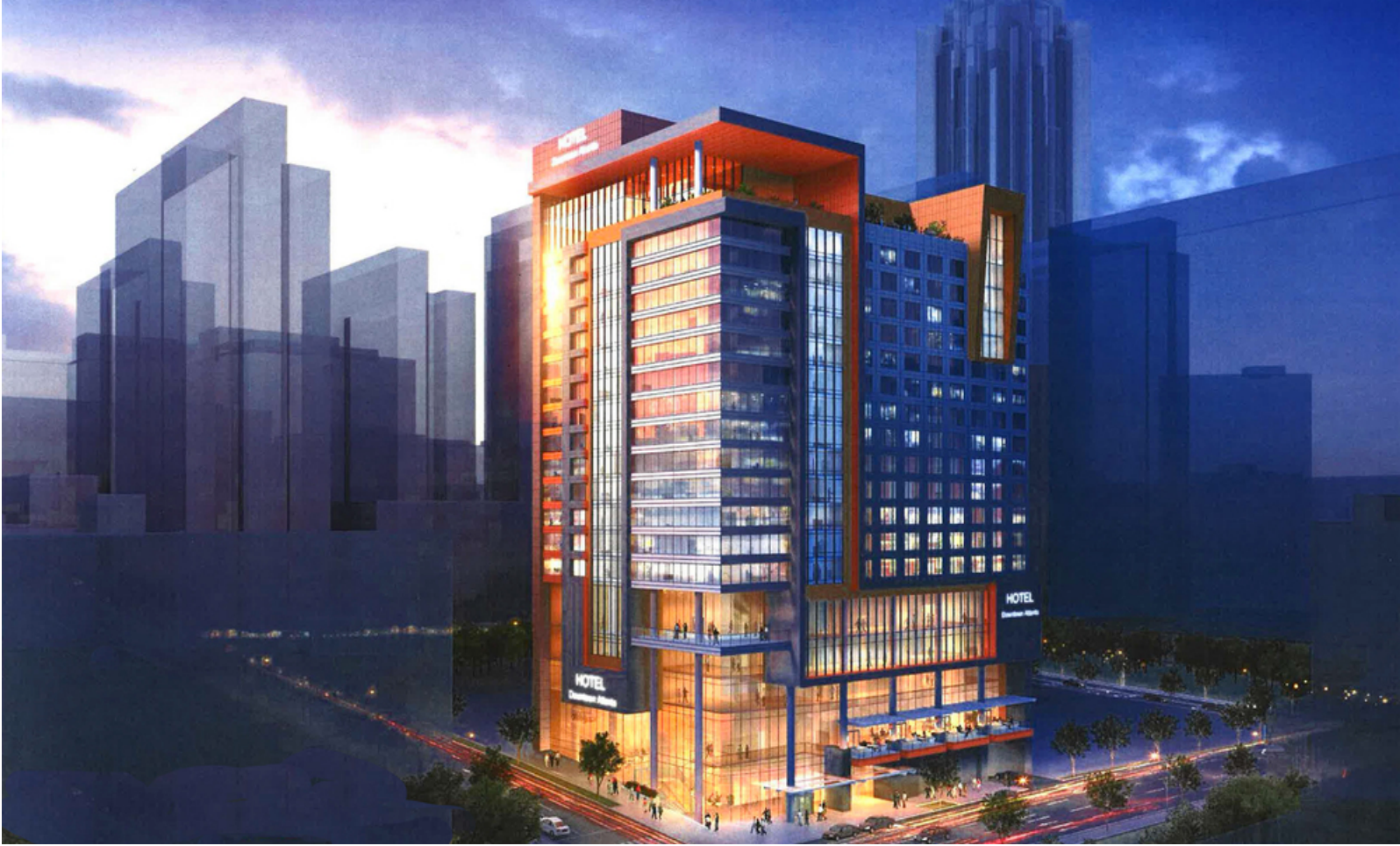 International Plaza Rendering | Downtown Atlanta - What ...