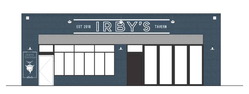 Irby's Tavern Elevation - Laura Daniel Architects.