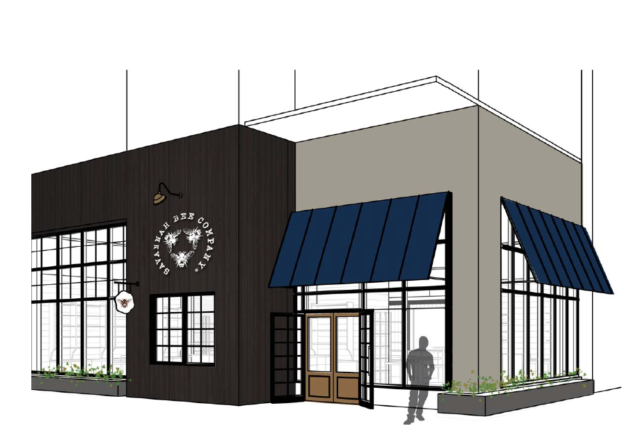 Savannah Bee Company Rendering - Westside Provisions District