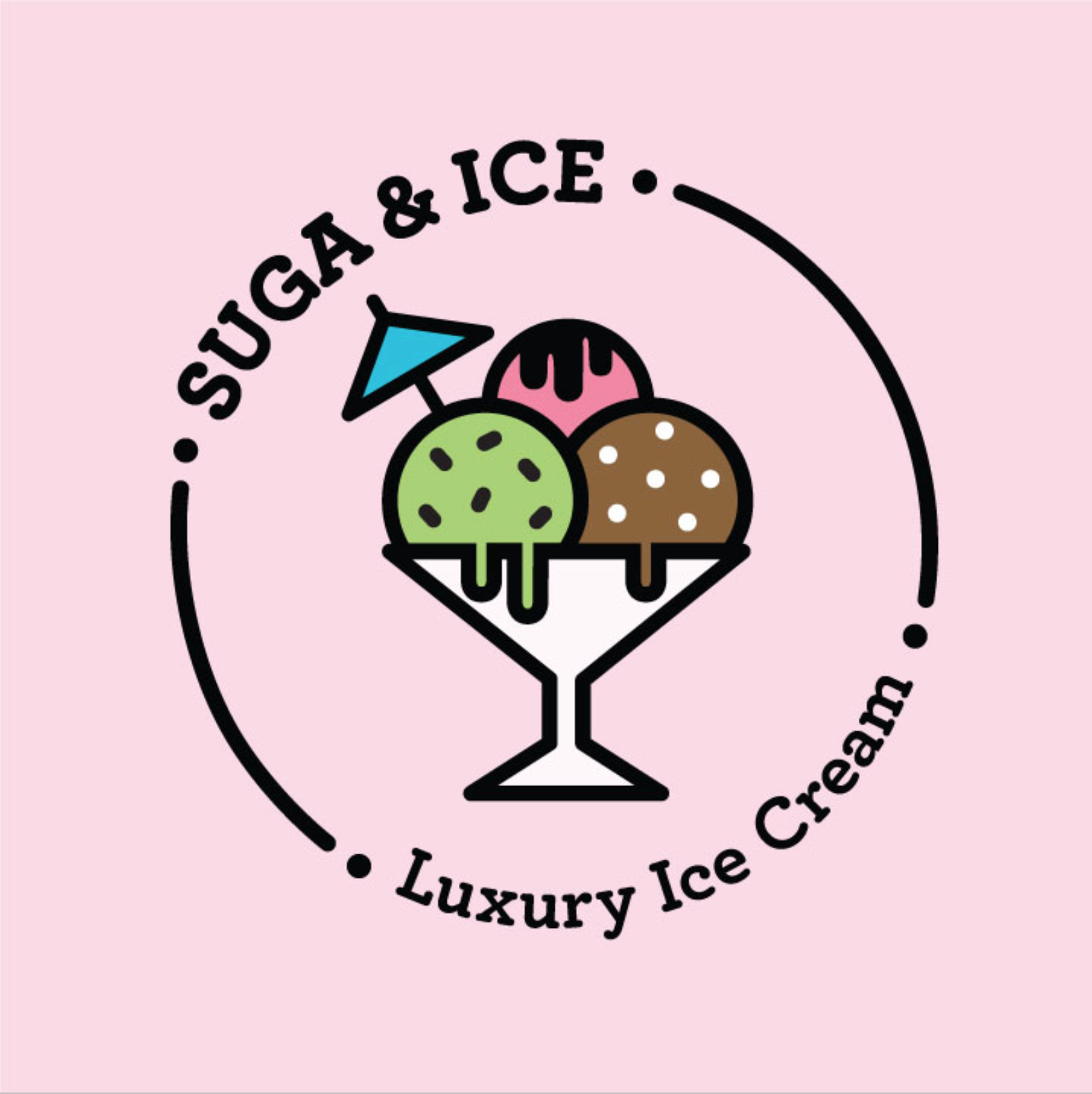 Suga and Ice Logo