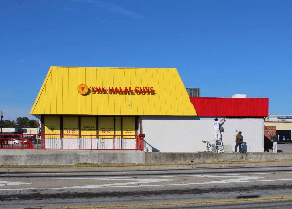 The Halal Guys - Progress Photo