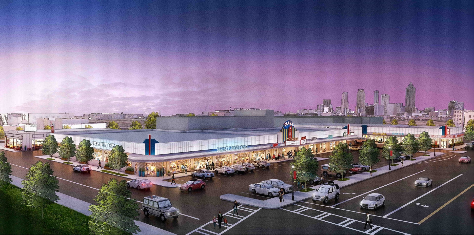 The Plaza on Ponce - Rendering 4