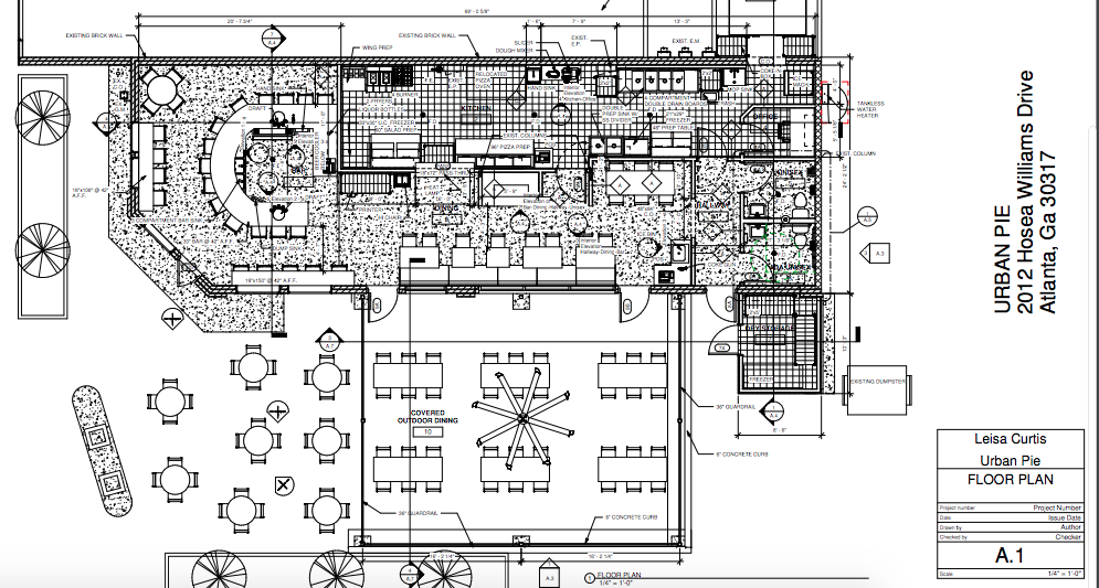 Urban pie plans expansion after 10 years what now atlanta for Urban floor plans