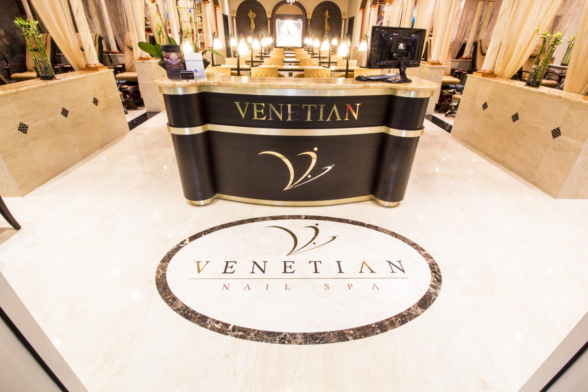 Venetian Nail Spa Lobby