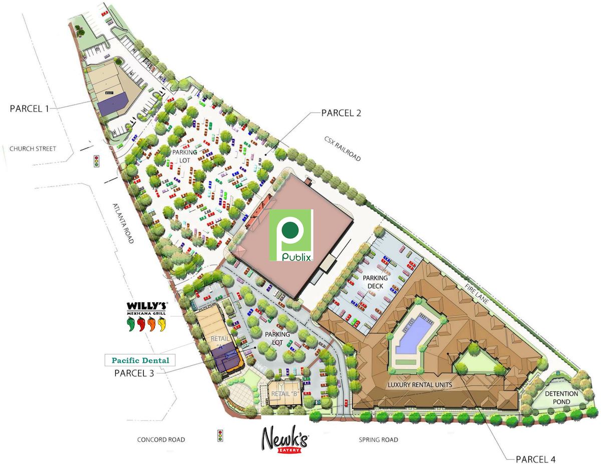 Willy's Mexicana Grill - Jonquil Site Plan