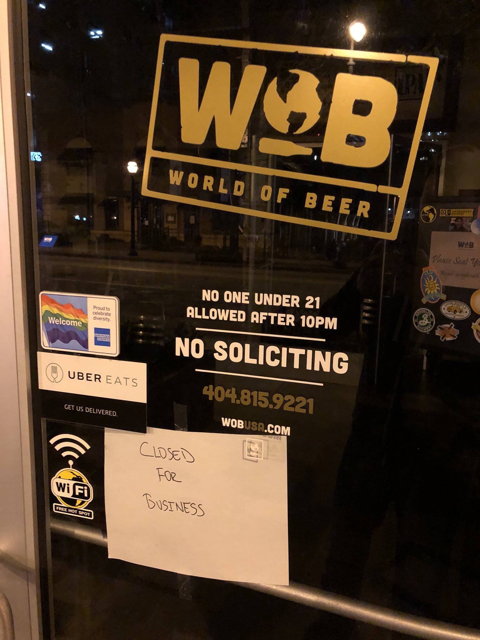 World of Beer - Midtown - Closed