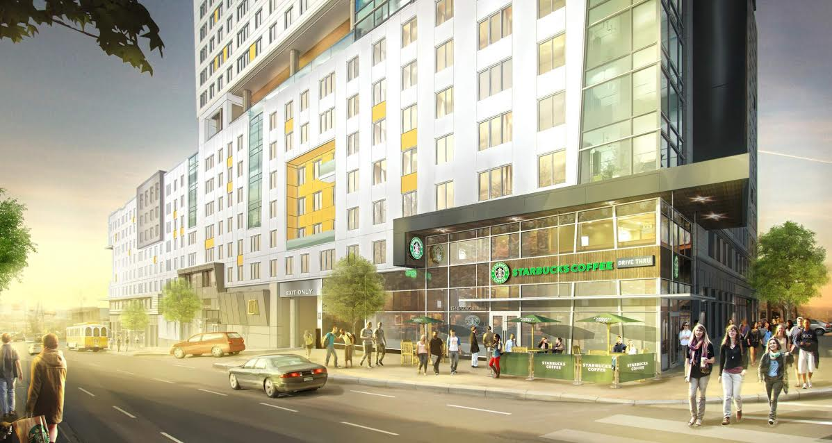 The standard proposed for midtown what now atlanta rendering courtesy of midtown alliance malvernweather Image collections