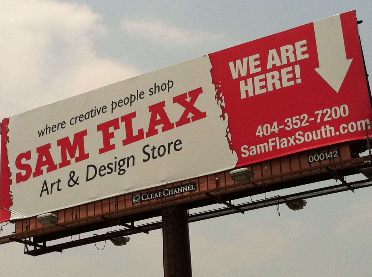 sam flax art supply ~ what now, atlanta?