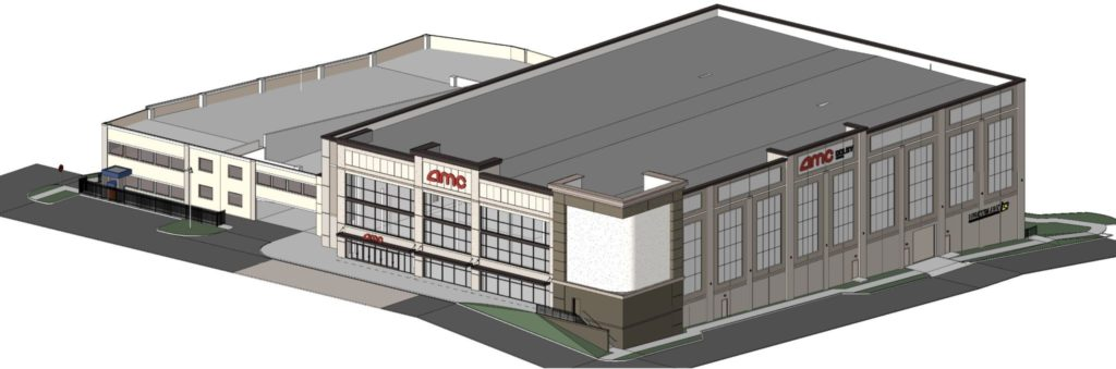AMC Theatre - Madison Yards - Rendering 1
