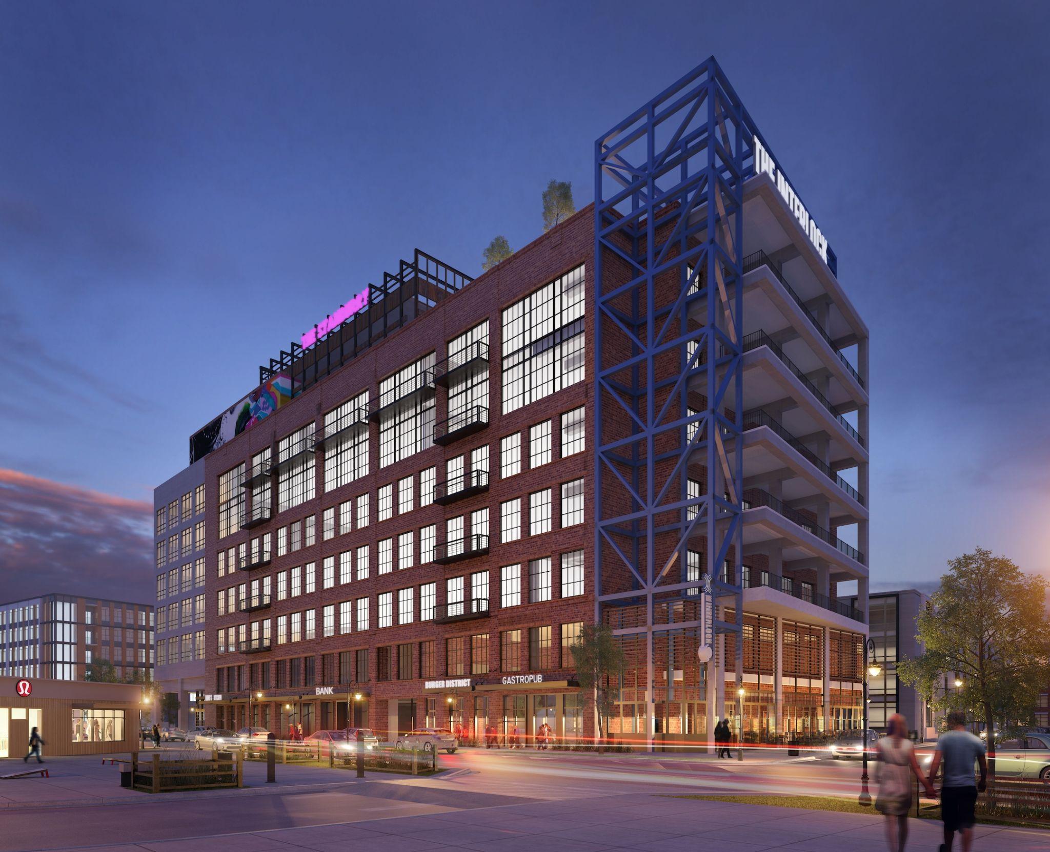The Interlock - Apartments Rendering