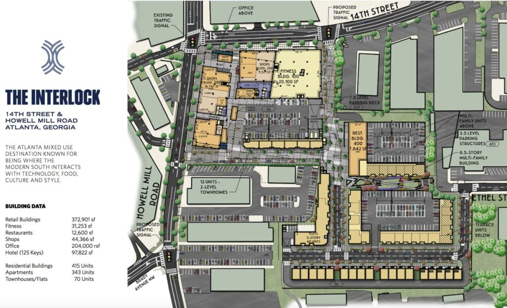The Interlock Site Plan
