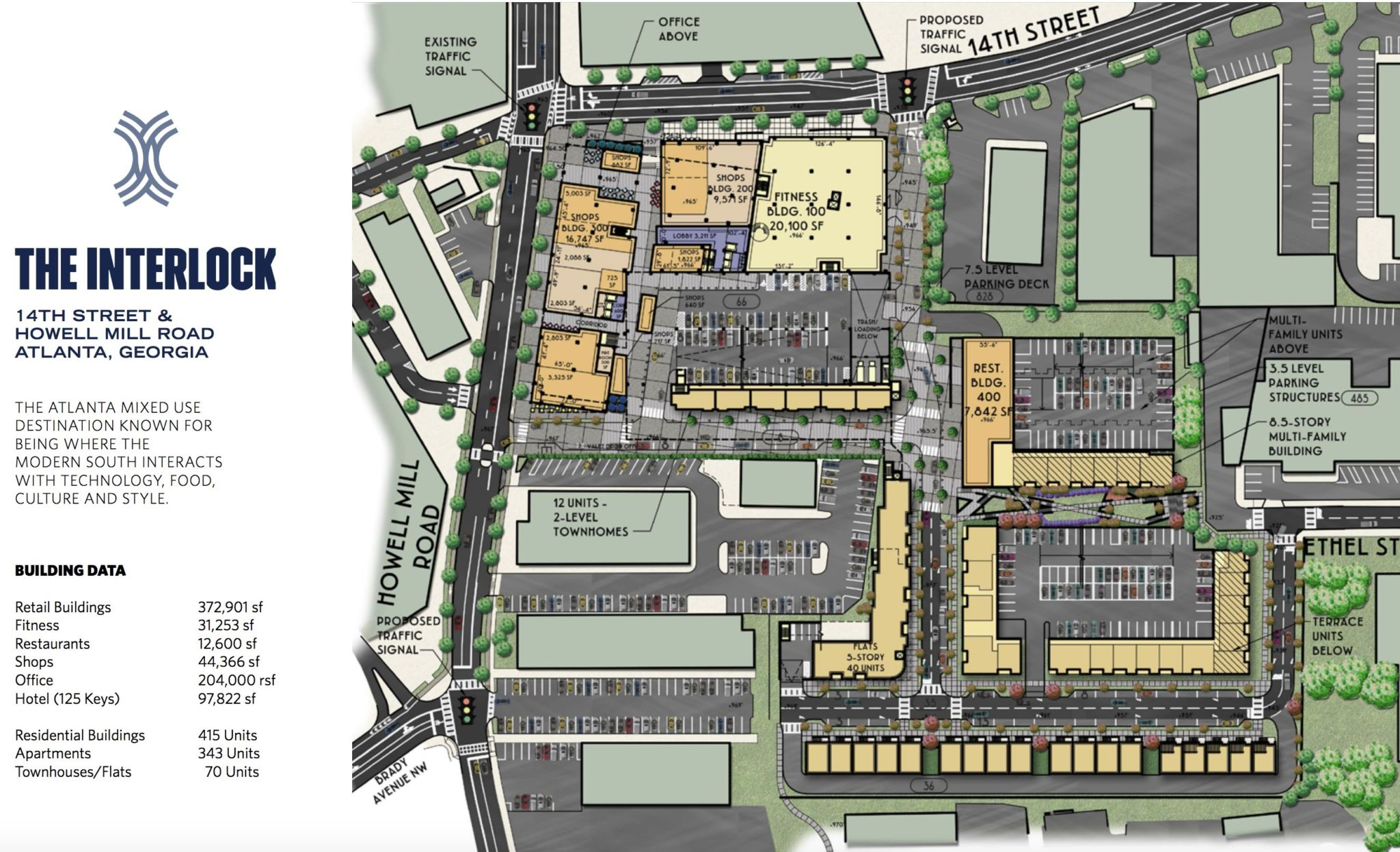 The Interlock Site Plan