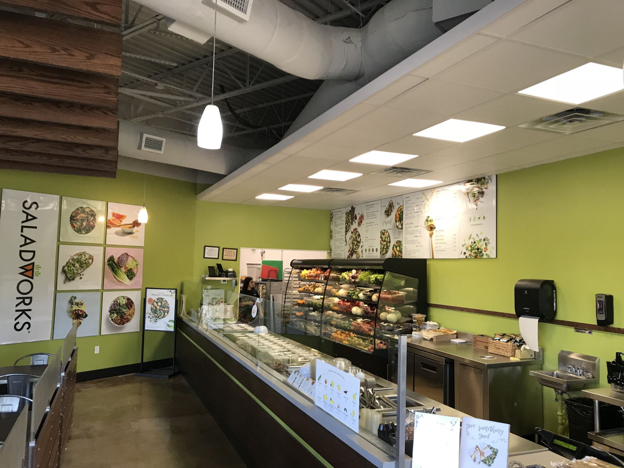 Atlanta's First Saladworks To Open in Brighten Park Shopping Center July 25 - What Now Atlanta