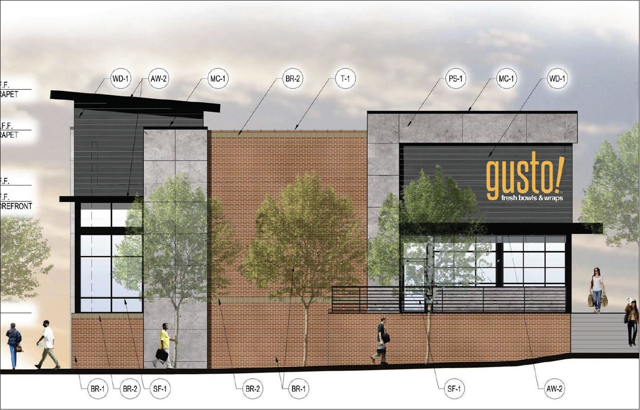 Gusto! North Decatur Square Rendering 1