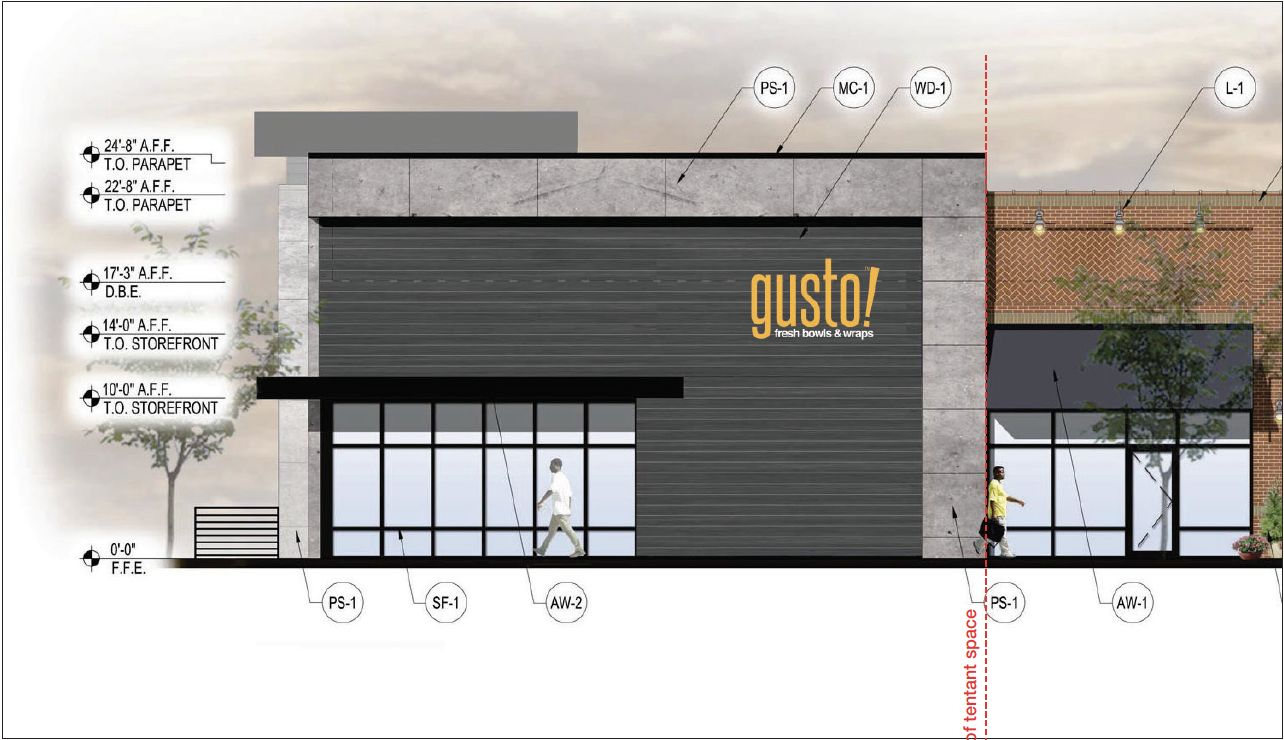 Gusto! North Decatur Square Rendering 2