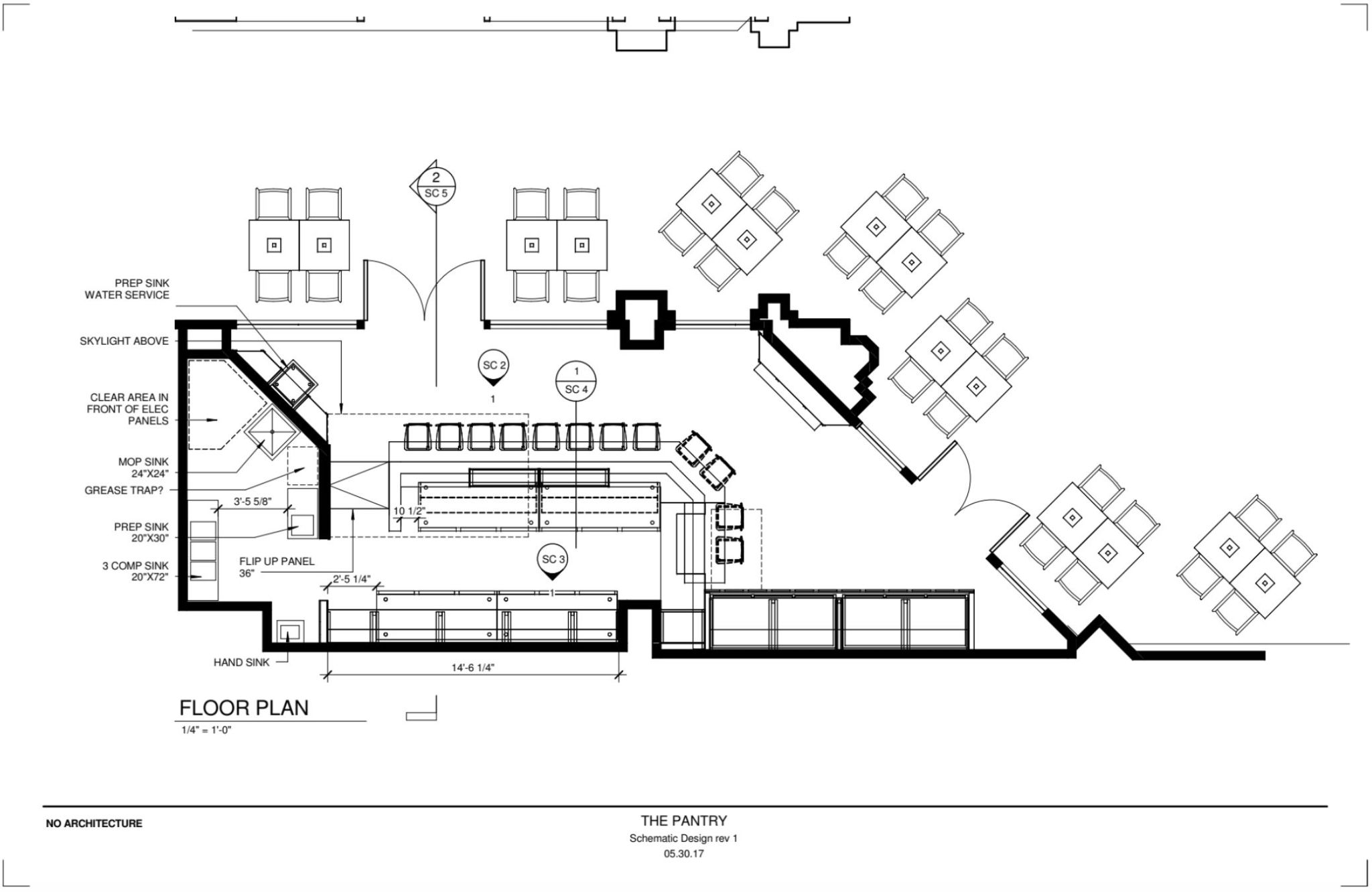 The Pantry Atlanta - Site Plan