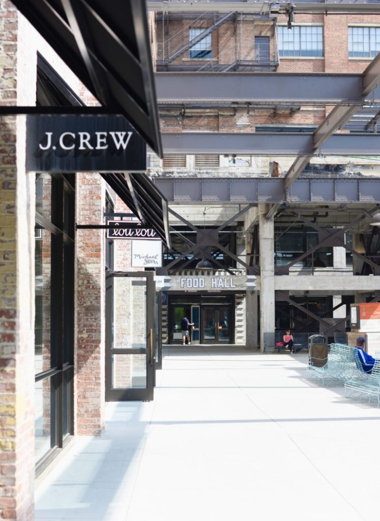 J. Crew Ponce City Market Peaches to Paris