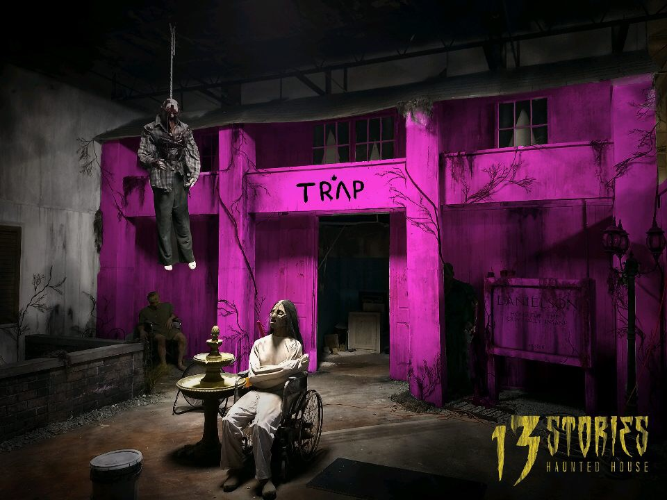 The Haunted Pink Trap House