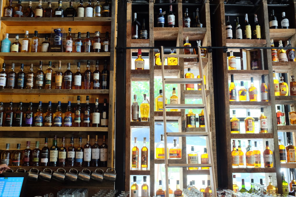 Hobnob Dunwoody Bourbon Shelves