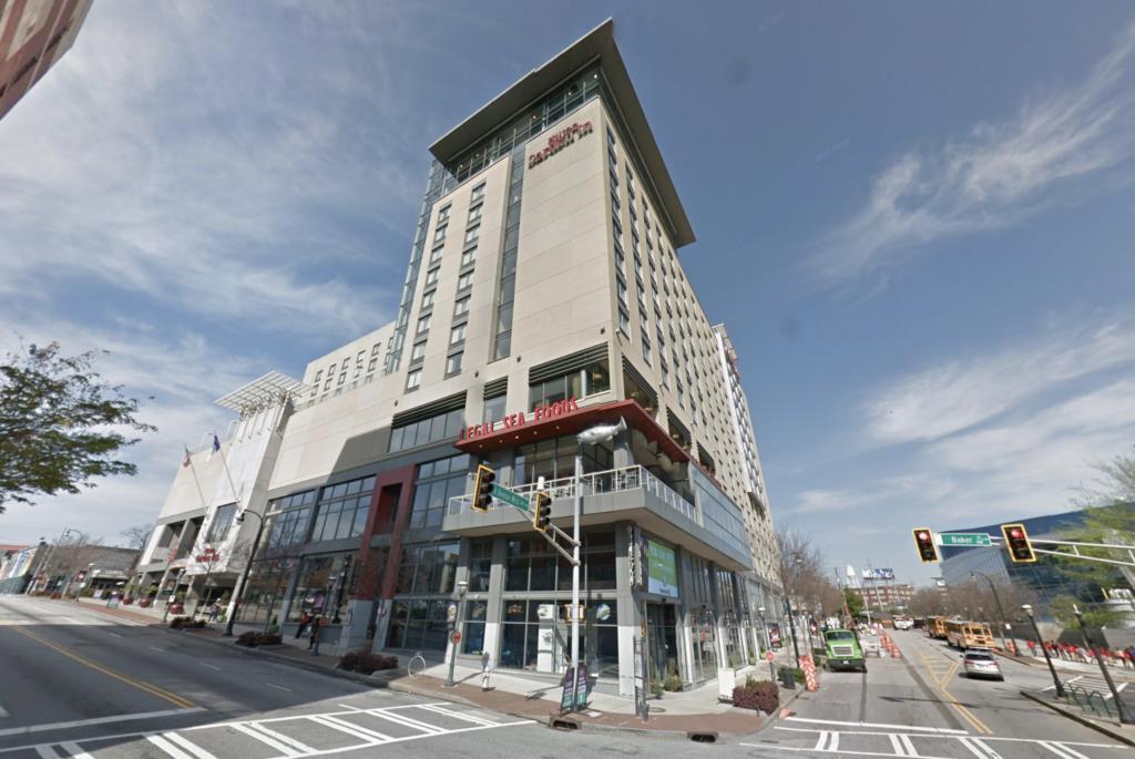 Legal Sea Foods Atlanta Closing