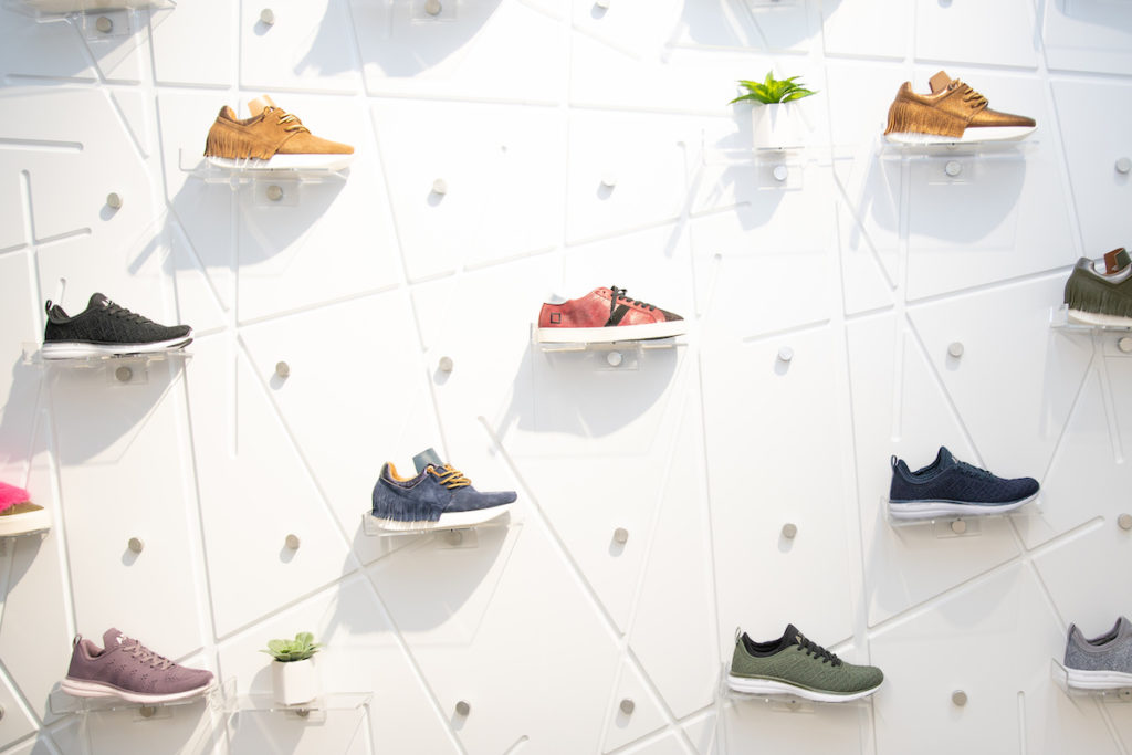 SculptHouse City Springs Shoe Wall