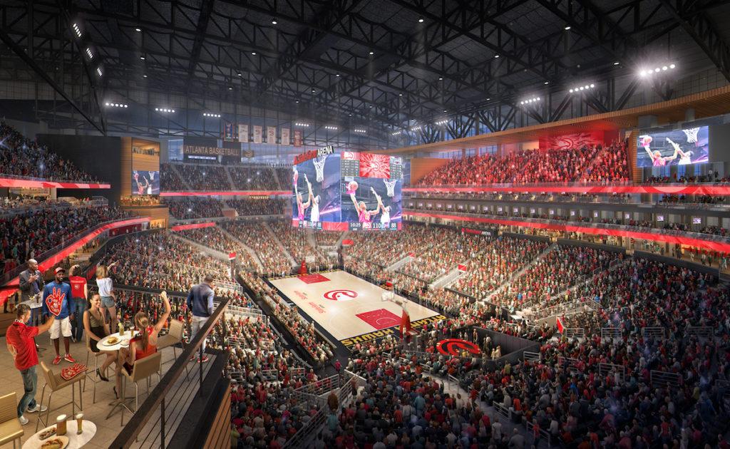 State Farm Arena Rendering 3