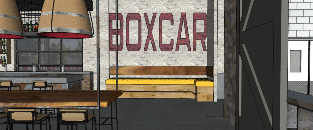 Boxcar at Hop City Rendering 1