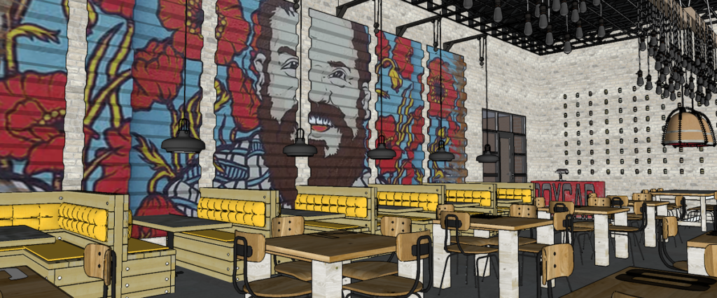 Boxcar at Hop City Rendering 2